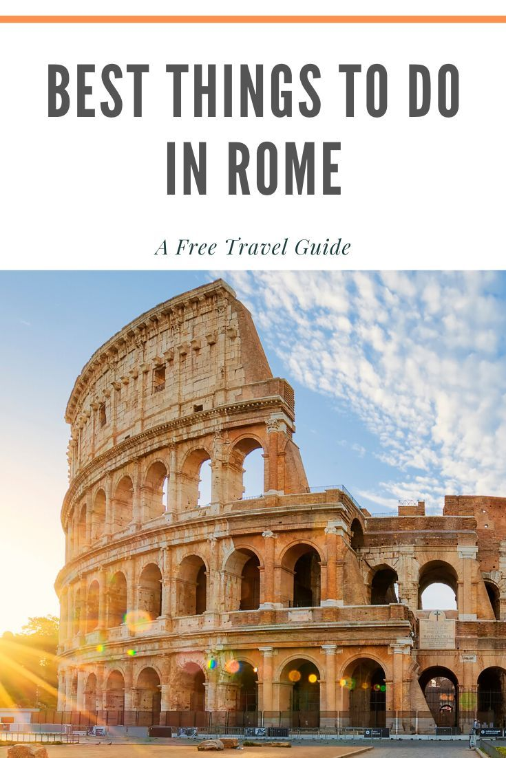 Best things to do in Rome | Travel, Rome travel guide ...