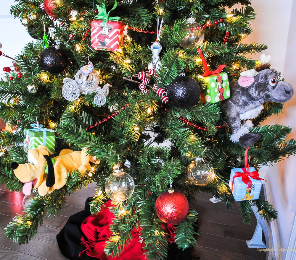 Disney Christmas Tree Decorations Upright And Caffeinated Disney Christmas Tree Decorations Christmas Tree Themes Christmas Decorations