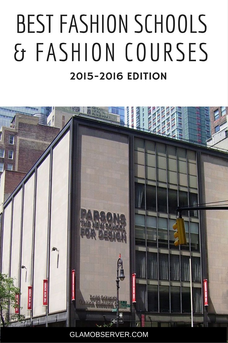 Top 5 Fashion Design Schools and Colleges in New York 2017 100