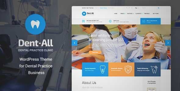 Download and review of Dent-All: Medical, Dental Clinic WordPress ...