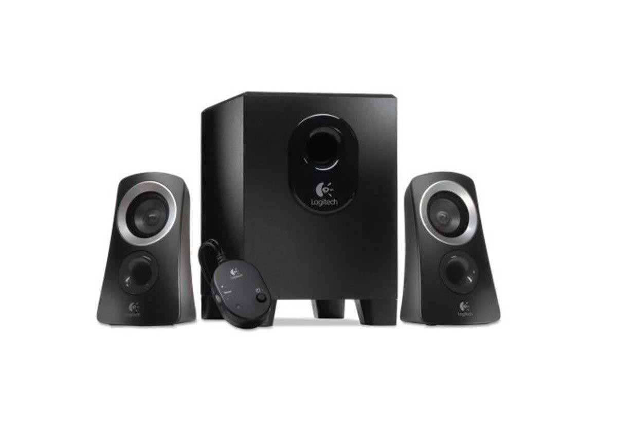 Logitech Z313 Multimedia Speaker System For 26 99 At Walmart Computer Speakers Logitech Logitech Speakers