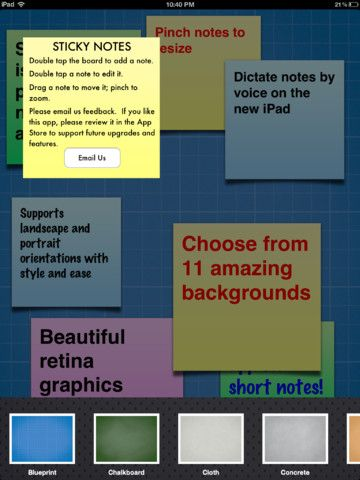 Sticky Notes for iPad Sticky notes app, Post it notes