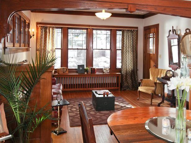 1920s Bungalow Restoration On Rehab Addict Bungalow Interiors Bungalow Style Craftsman Bungalows