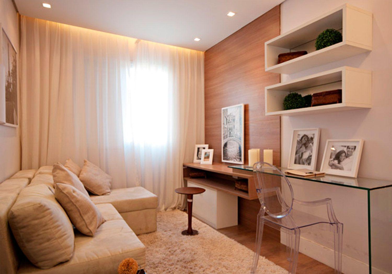 Painel Planejado Para Sala De Tv 9 Sala Pinterest Salas De  -> Sala Quadrada Planejada