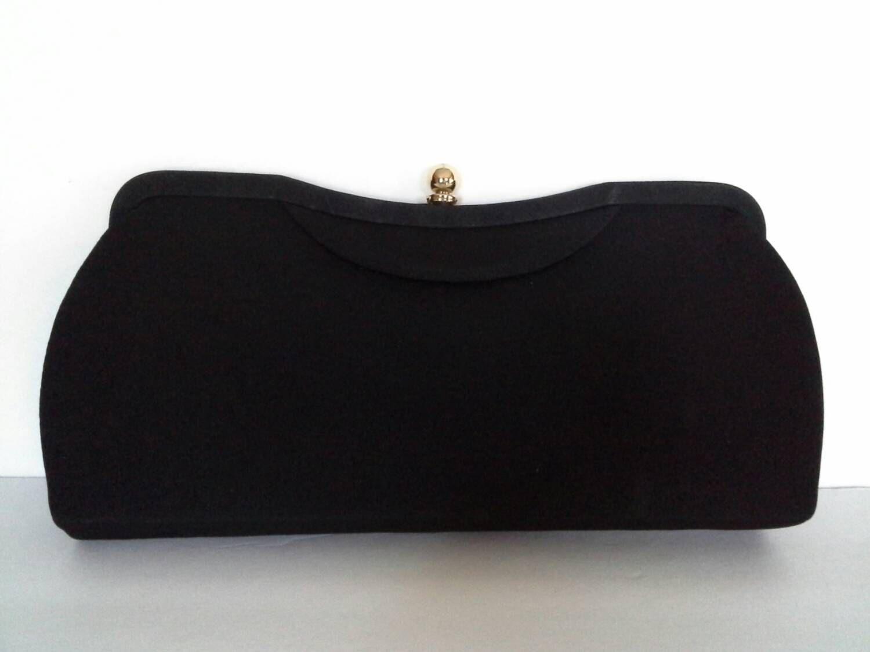 cheaper sale 60% clearance buying new Black Clutch Purse, Black Evening Bag, Black Formal Clutch ...