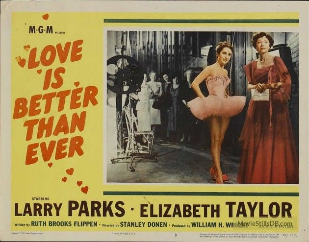 Love Is Better Than Ever - Lobby card