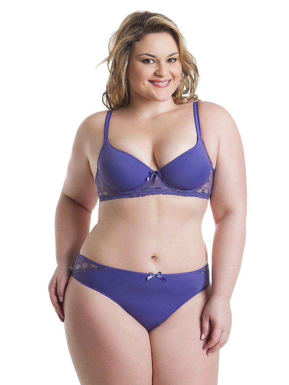 Plus Size Lingerie Models | Moda Plus Size: Escolha a cor da ...