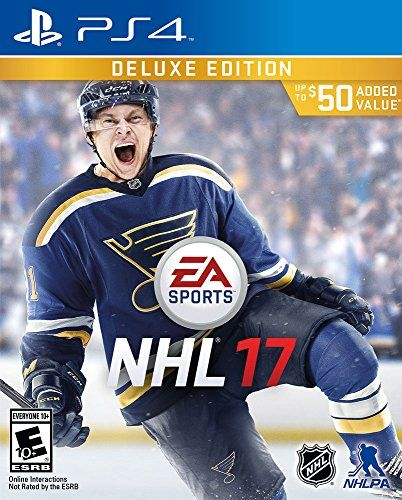 NHL 17 Deluxe Edition PlayStation 4 -- Click on the image for additional  details. Note It is Affiliate Link to Amazon. be1485cfb
