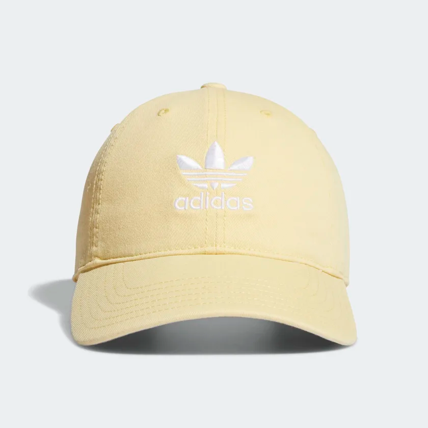 Shop For Strap Back Relaxed Hat Yellow At Adidas Ca See All The Styles And Colours Of Strap Back Relaxed Hat Yellow At The O Yellow Adidas Adidas Cap Hats