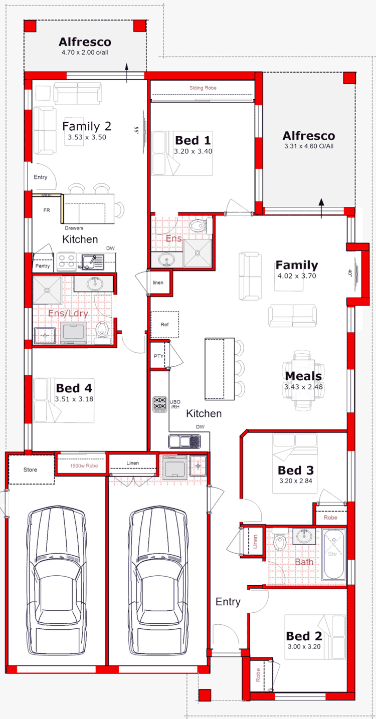Discover Our Entire Range Of Dual Occupancy House Plans Designed For The Perth Metro Area From Sing House Plans Australia Modern House Floor Plans How To Plan