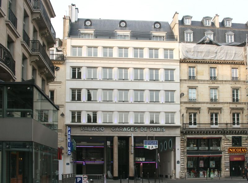 le palacio de la madeleine 1935 immeuble galerie et garage 25 27 place de la madeleine paris. Black Bedroom Furniture Sets. Home Design Ideas