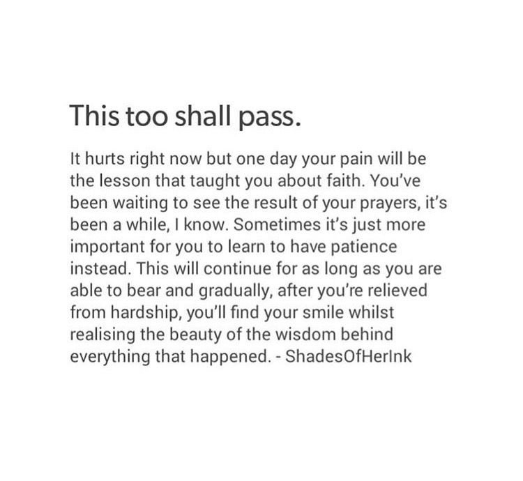 This too shall pass. | ─ Islam | Passing quotes, Islamic ...
