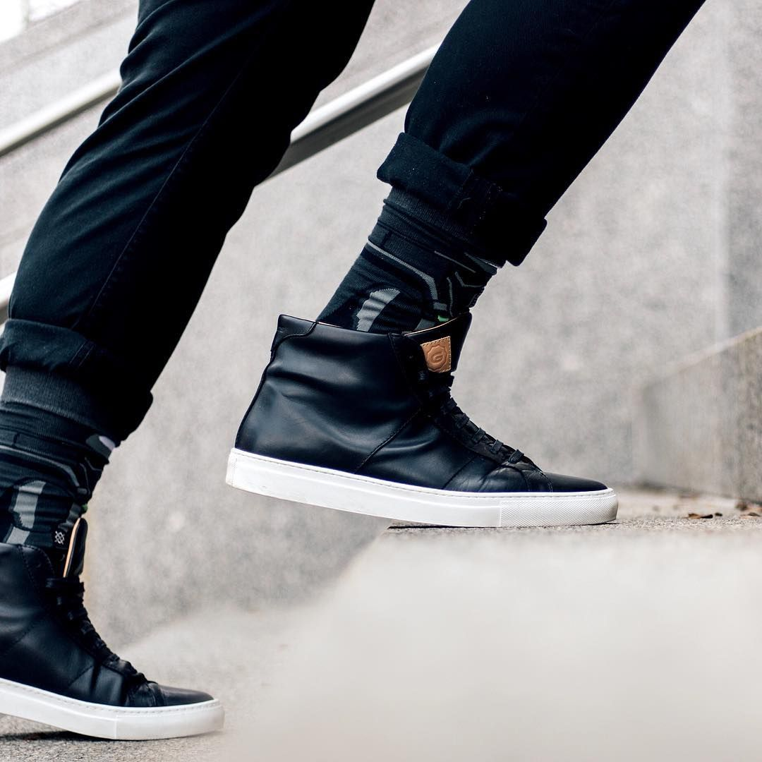 The Royale High - Nero | High sneakers