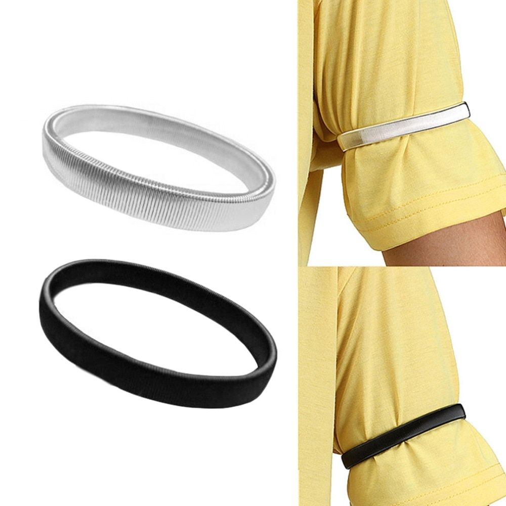 100% Quality Polyester Elastic Unisex Armbands Sleeve Garter Adjustable Gift Shirt Sleeve Holders Elastic Sports Fashion Business Accessories Men's Accessories Men's Arm Warmers