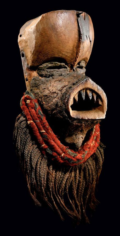 Africa | Mask from the Dan people of the Ivory Coast ...