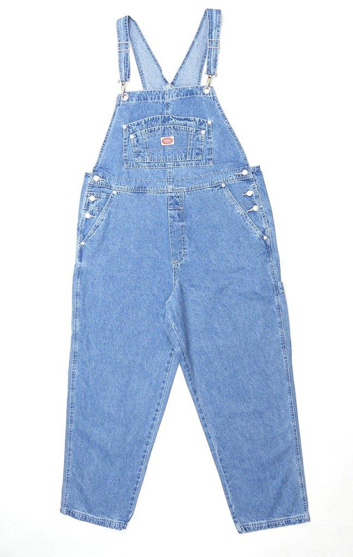 d6497c2cc50 Amazon.com  Revolt Women s Plus Size Denim Jean Blue Overalls Size 24   Clothing