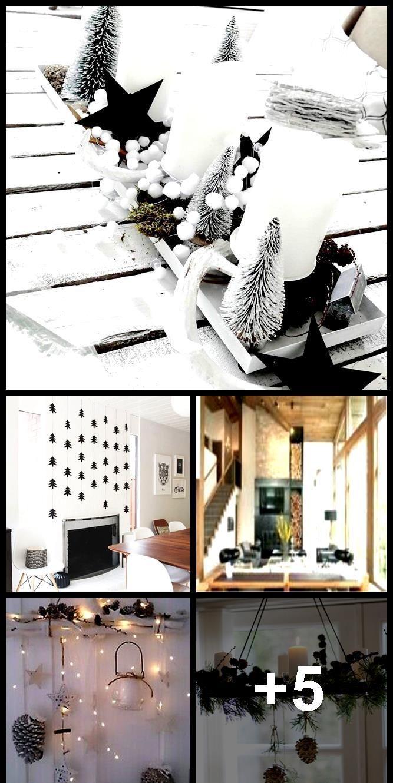 Kamindekoration Weihnachten – Weihnachtsdekoration #Wohnzimmer #Wohnzimmer …,  #adventskran…