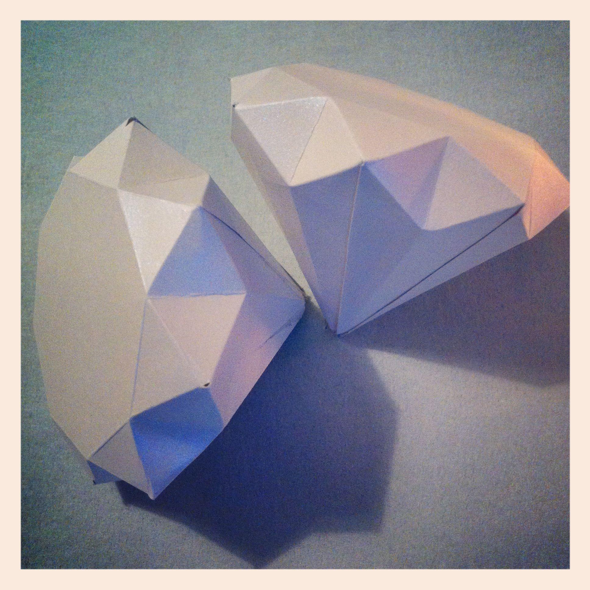 Diamond Wedding Anniversary Gifts For Grandparents: #Paper #Diamonds For My Grandparents 60th #Wedding