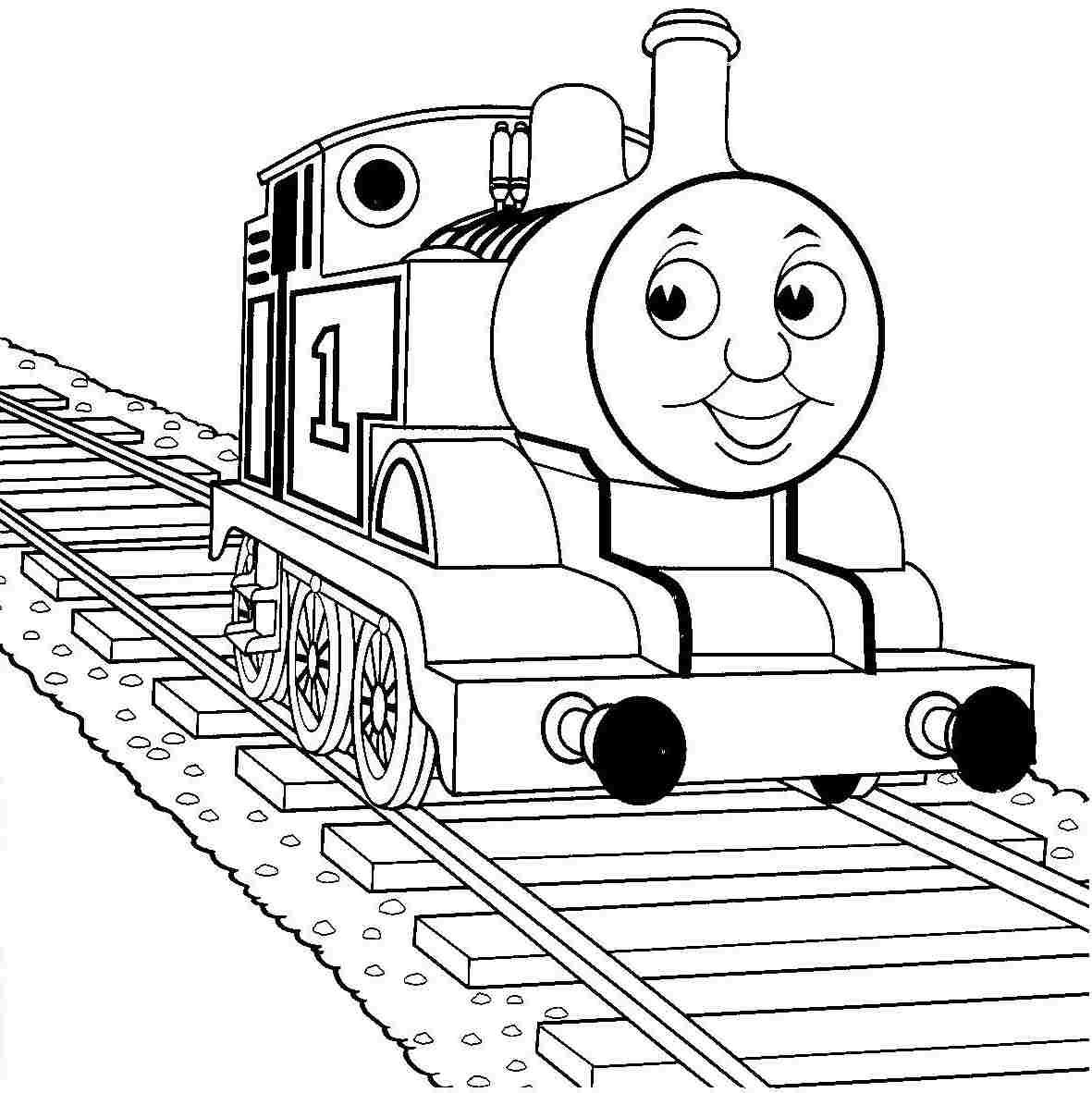 Thomas The Train Coloring Page Color Periods Free