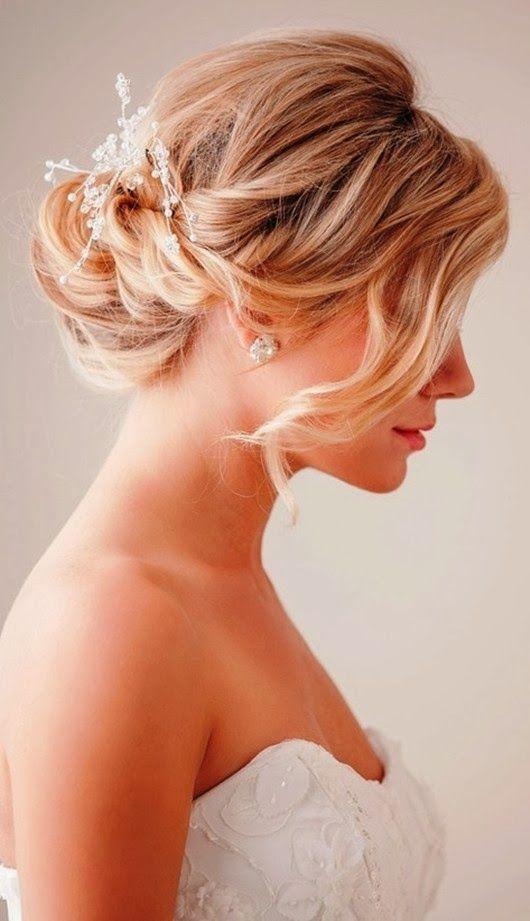 Incredible 1000 Images About Wedding Hairampnail On Pinterest Elegant Hairstyles For Women Draintrainus