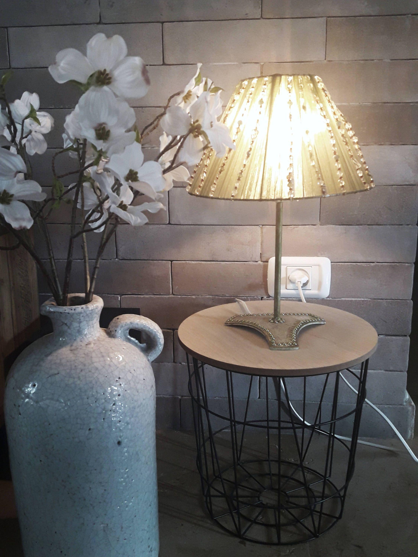 Beaded Lamp Shade Bedroom Light Jewelry Bohemian Lamp Shade