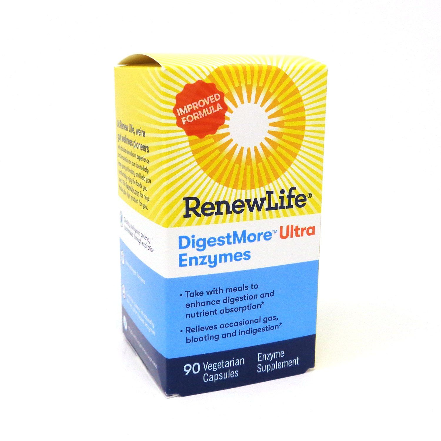 25+ DigestMore Ultra by Renew Life   90 Capsules