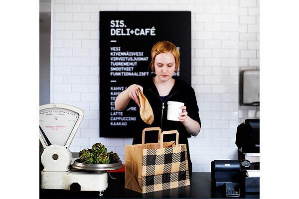Sis. Deli + Café Identity by Rasmus Snabb