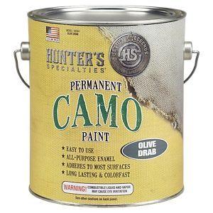 Hunter's Specialties H.S. Camo Permanent Camo Paint - Olive Drab - Quart
