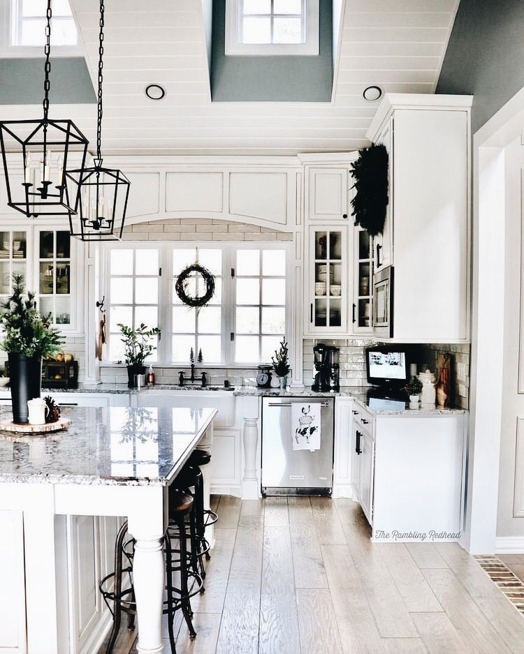 Pin von Donalyn Bruzzini auf kitchen | Pinterest | Küche, Wohnküche ...