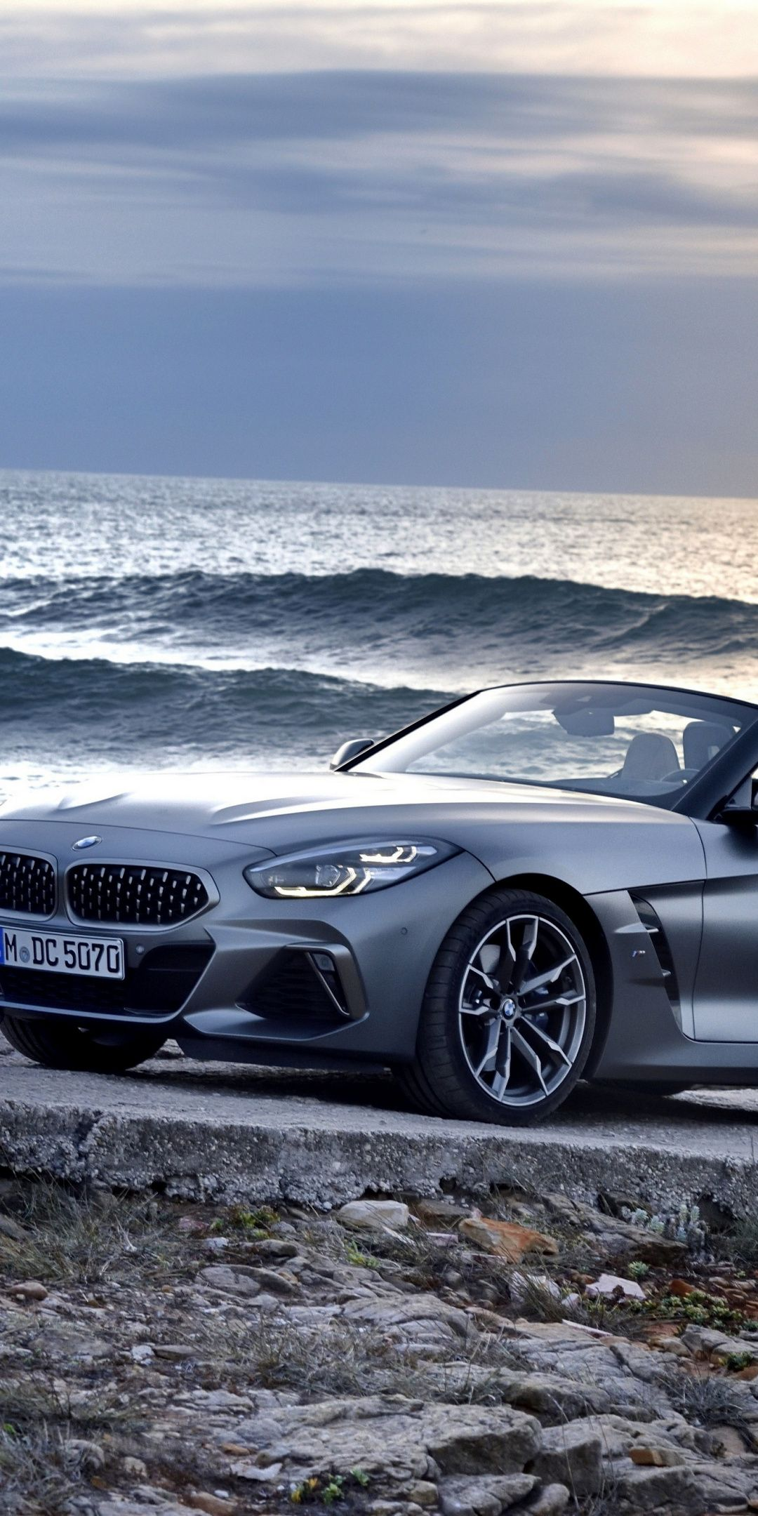 Coast, off-road, BMW Z4, 1080x2160 wallpaper (With images ...