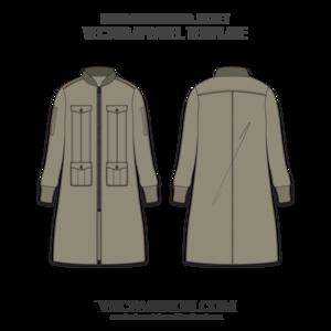 men long bomber jacket vector template apparel vector pinterest