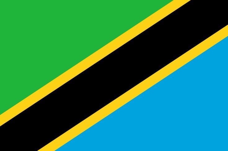 This Is The Flag Of Tanzania Tanzania Is A Country Tanzanian Flag Tanzania Flag Flags Of The World