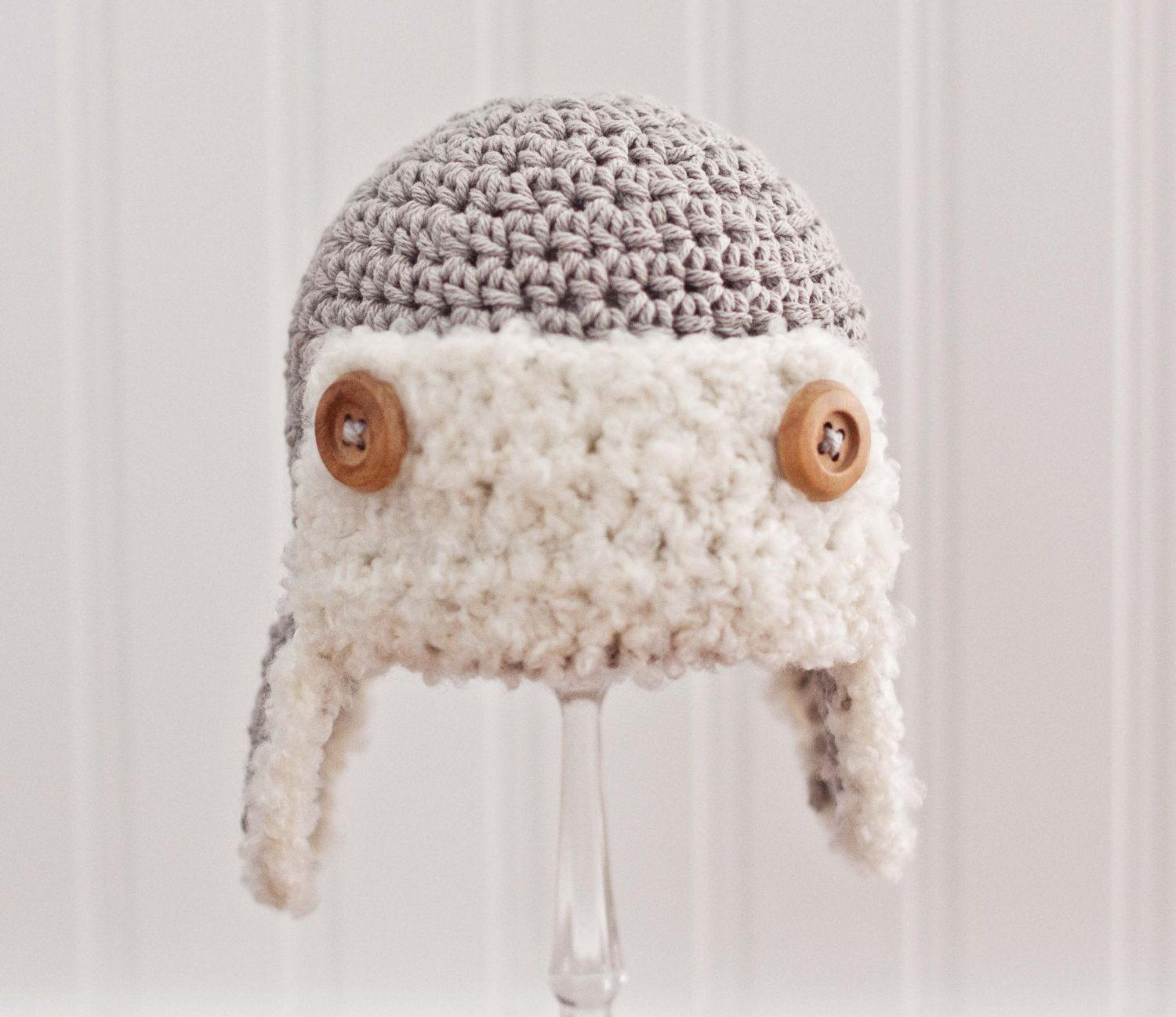 Crochet Aviator Hat Hat for Boy Aviator Hat by BBirdBoutique, $28.00 ...