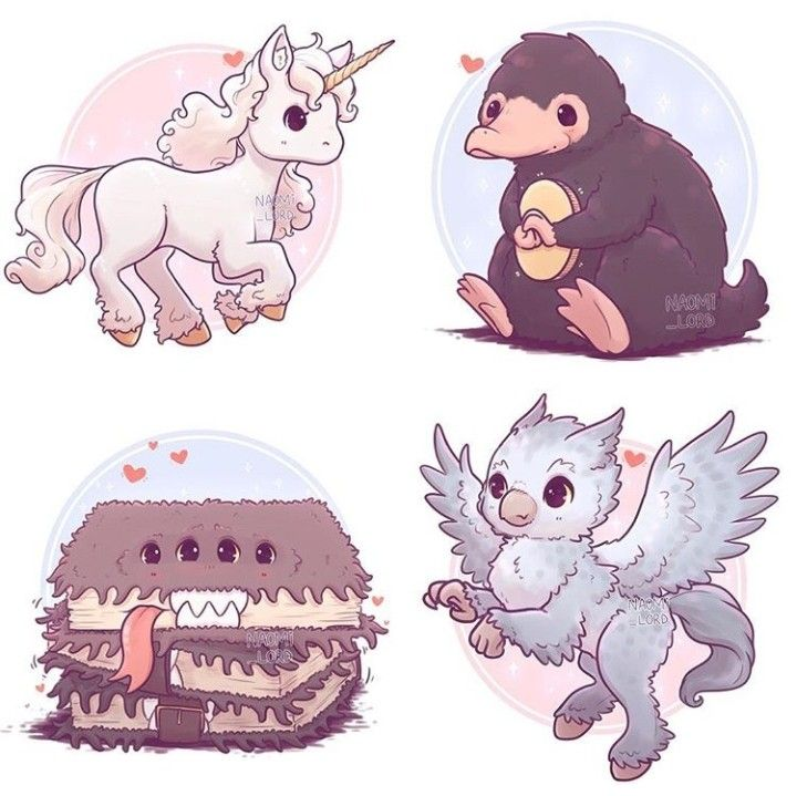 Care of Magical Creatures #cutecreatures