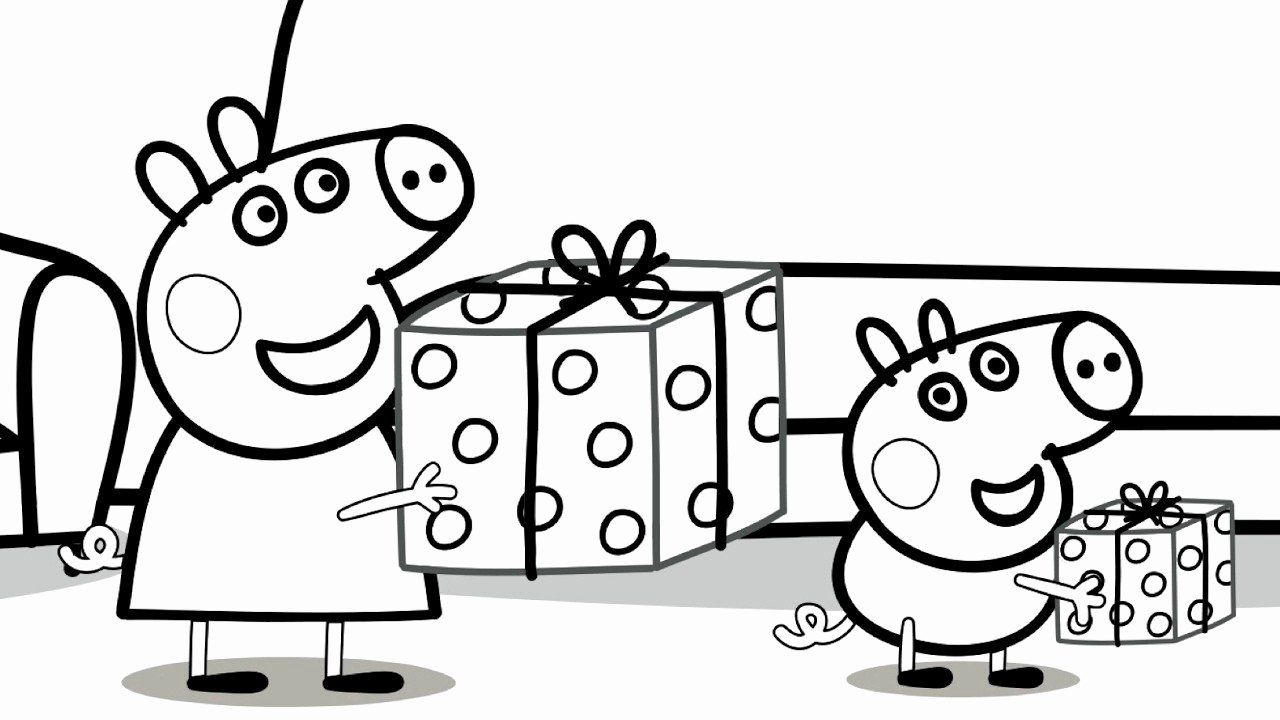 Number Nine Coloring Sheet Peppa Pig Coloring Pages Coloring Pages For Kids Cartoon Coloring Pages