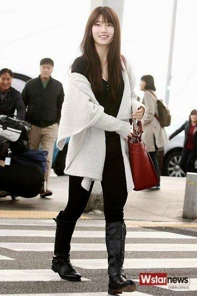 Top 10 Female Idols With Stylish Airport Fashion Part 1 Fashion Korean Street Fashion Korean Fashion