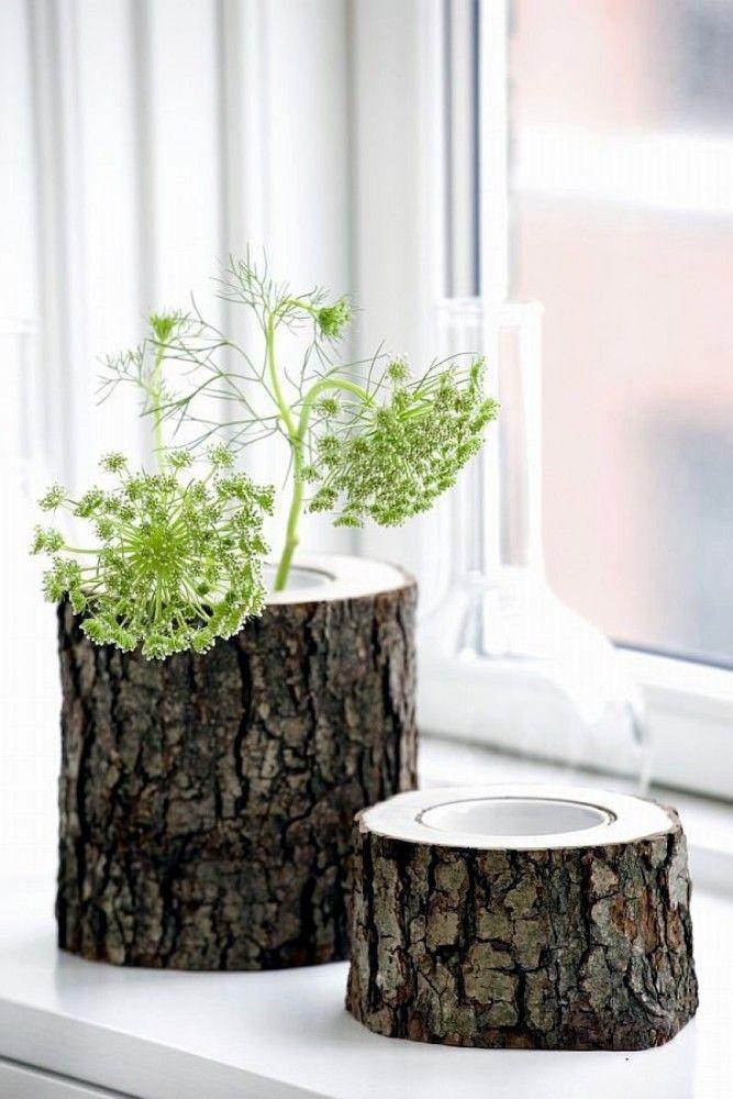 Tree Stumps as Interior Decoration | Design & DIY Magazine
