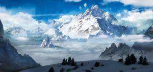 Heaven's Peak by Finchzero
