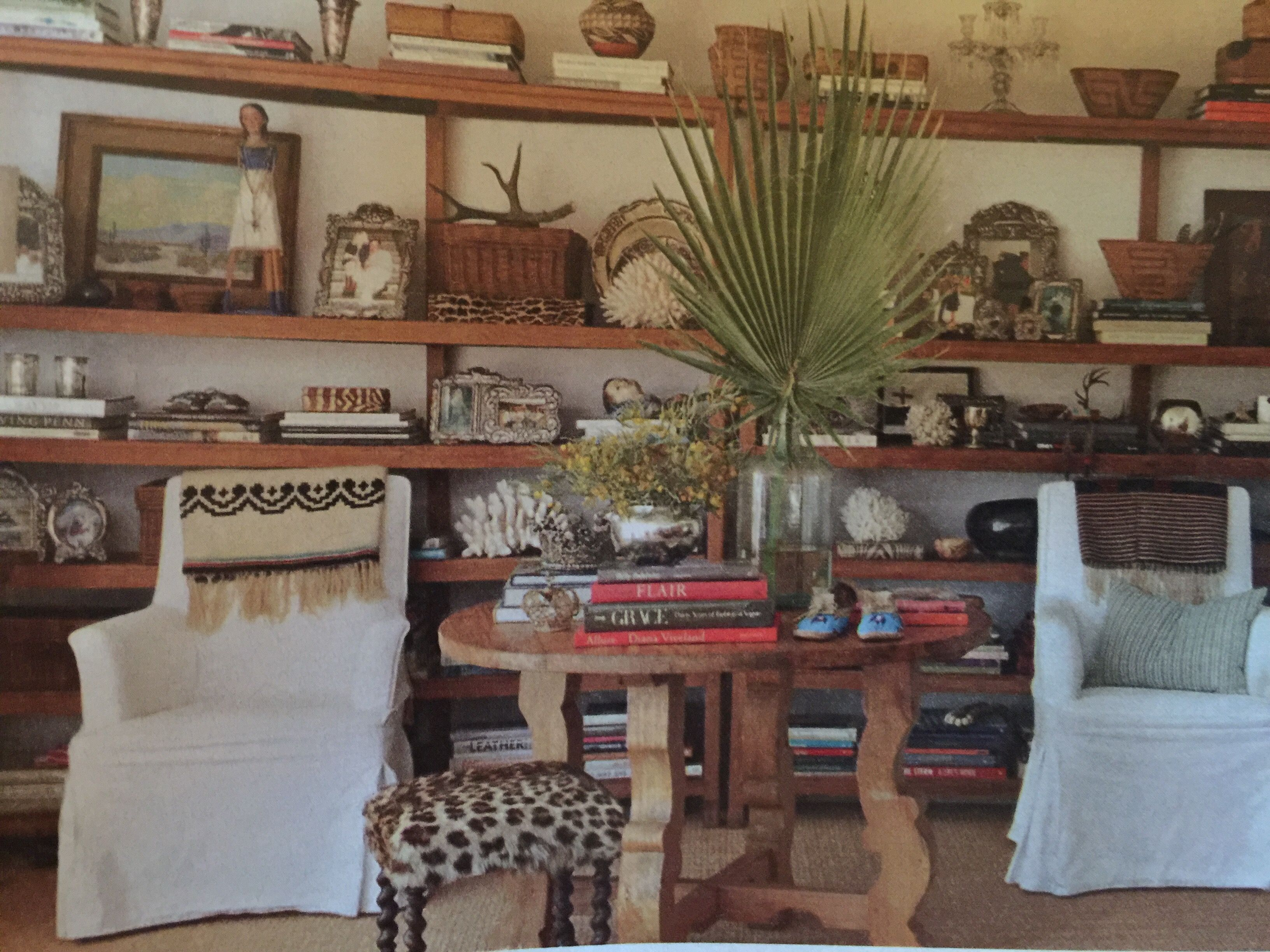 From BHG Mary Emmerlings Home Like The Shelves And Natural Look Maybe With