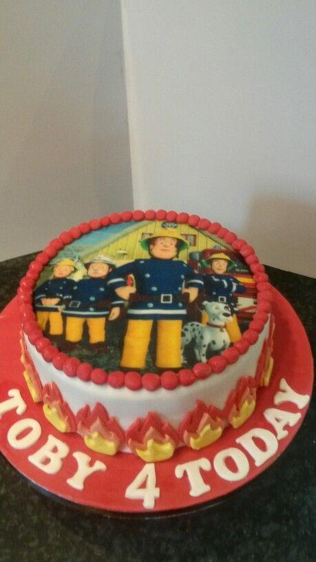 The Big 4 Fireman Sam Party Firefighter Cakes Pinterest