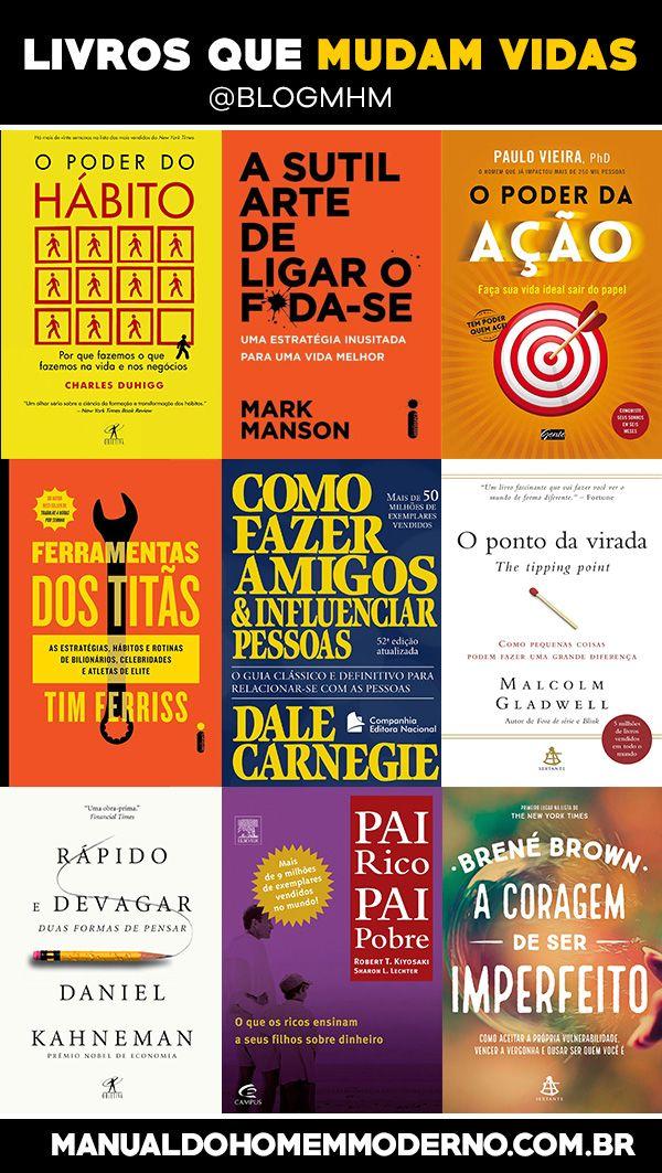 Confira nossa seleção com livros que podem mudar sua vida. Confira!