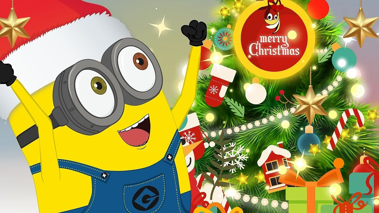 Minions Merry Christmas 2017 | Christmas Songs | Minions Funny ...