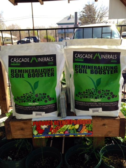 Cascade Minerals Remineralizing Soil Booster is available at Brady\'s ...