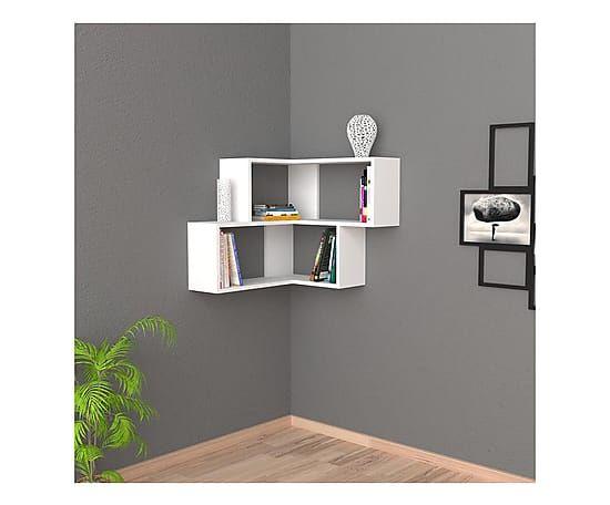 Scopri le mensole di design più originali ed innovative, che renderanno spettacolare ogni ambiente. Dalani Home Living Mensola A Muro Scaffalature Ad Angolo Parete Con Scaffali