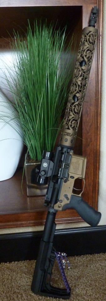 www.OffHandGear.com - New Fleur D' Lis hand guard available