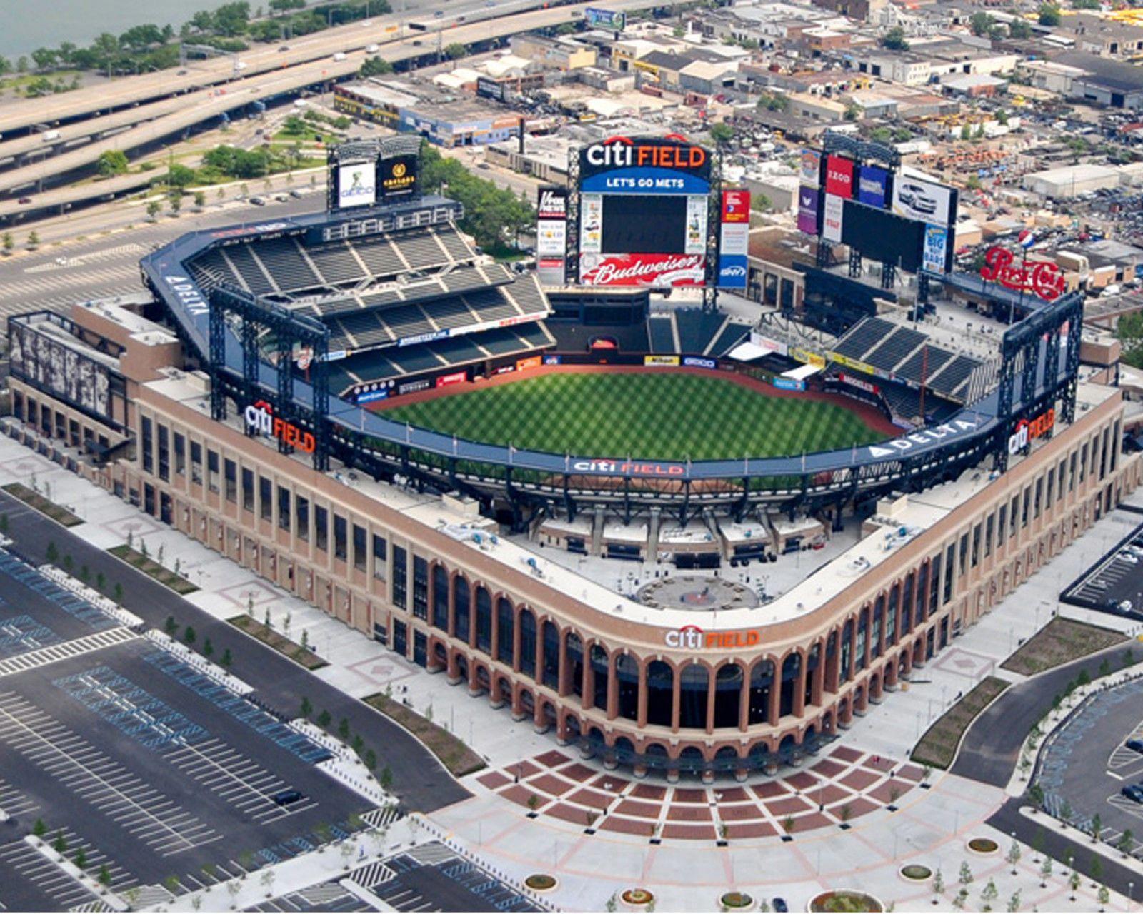 Citi Field New York Mets Stadium New York City 8x10 Photo Picture New York Mets Stadium Baseball Park Mlb Stadiums