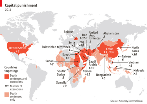 Hangmen Political Death Map Death Records