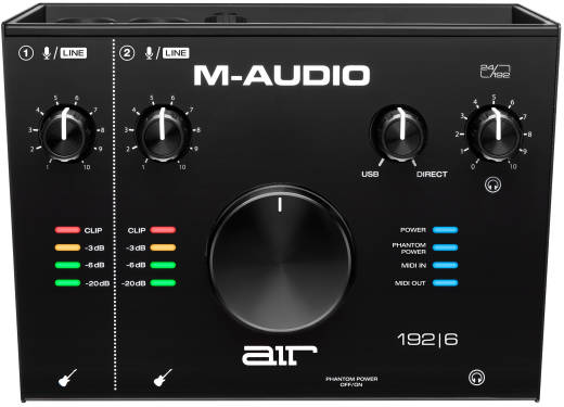 MAudio AIR 1926 2In/2Out 24/192 USB Audio/MIDI