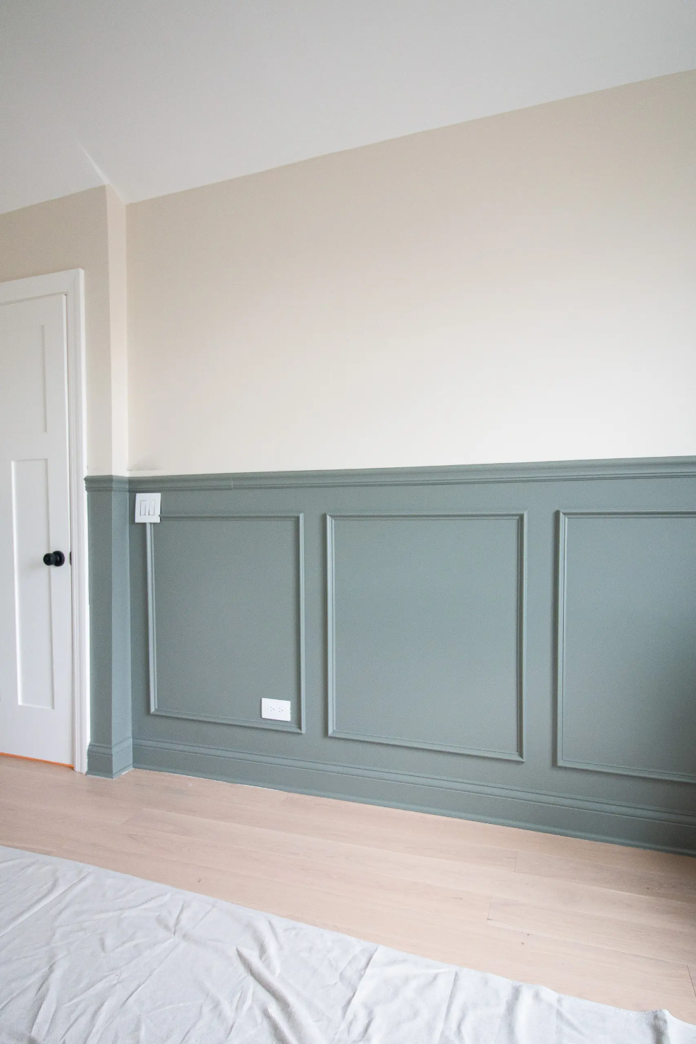 How To Add Chair Rail + Picture Frame Molding