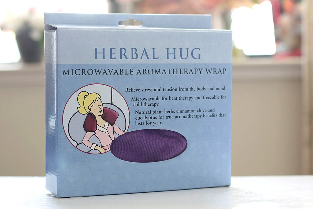 Latest Heavenly HomeGoods Haul/Life Hack Happiness Helper: The Herbal Hug Microwavable Aromatherapy Wrap aka The Best Gift Ever